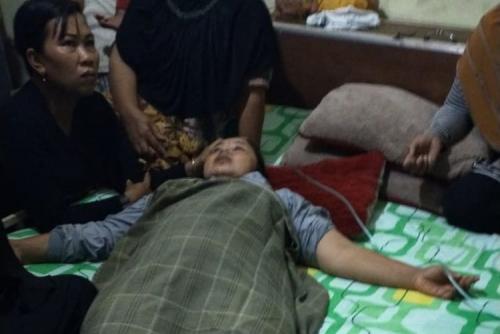 Berteduh dalam Gubuk di Tengah Sawah, Suami Istri Disambar Petir, 1 Tewas