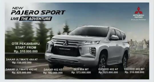 Mitsubishi Motors Perkenalkan New Pajero Sport ke Publik di Pekanbaru