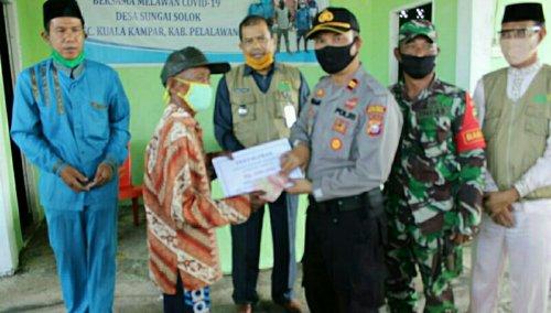 BLT DD Tahap III Disalurkan di Sungai Solok Kuala Kampar