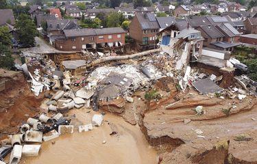 Banjir Dahsyat Terjang Eropa Barat, Ratusan Orang Tewas dan Ribuan Hilang