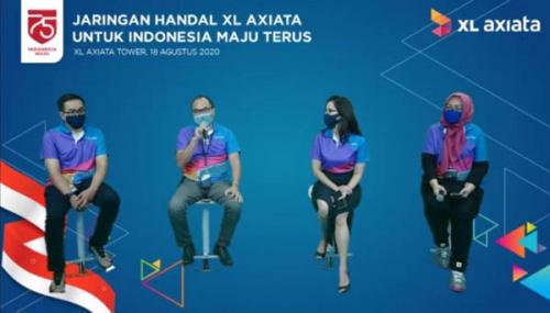Dukung Indonesia Maju Terus, XL Axiata Terus Hadirkan Jaringan Data Andal untuk Masyarakat Indonesia