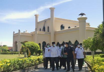 Istana Siak Dibuka Kembali, Pengunjung Wajib Terapkan Prokes Covid-19 dan Miliki Aplikasi Peduli Lindungi