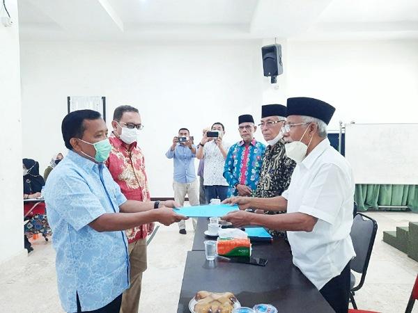 Nazaruddin Pimpin Permaskab Meranti Pekanbaru