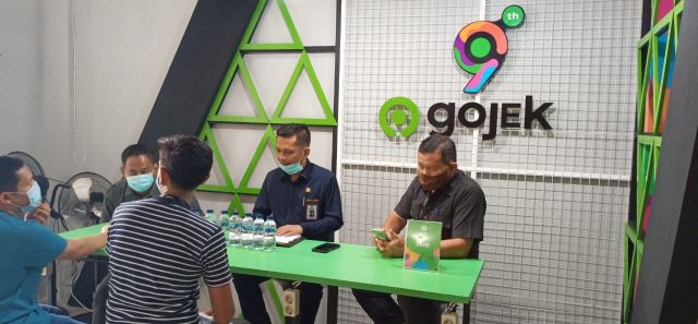 Dewan Datangi Kantor Gojek Usai Aksi Damai Ratusan Mitra Drivernya di DPRD Kota Pekanbaru