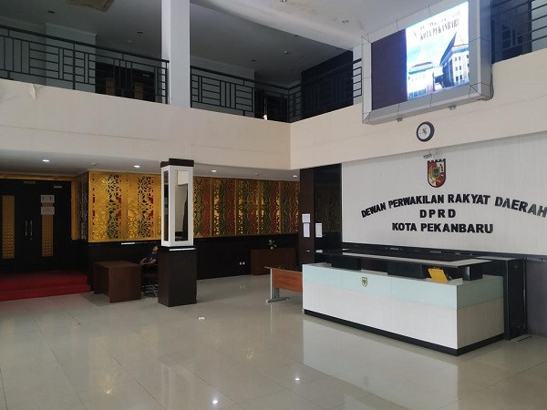 Belasan Penghuni Terpapar Corona, Anggota Fraksi PKS Setuju Kantor DPRD Pekanbaru Ditutup