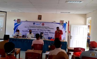 Puluhan Nelayan Panipahan Ikuti Pelayanan ISR dan Maritime on the Spot