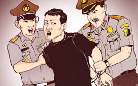 Minta Kerja Secara Paksa dan Aniaya Security PT HKI di Kampar, Enam Oknum Anggota SPSI Ditangkap Polisi