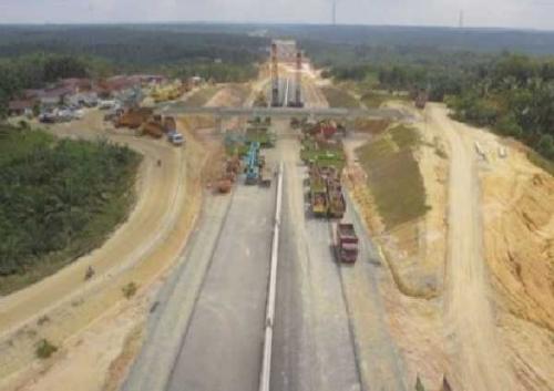 Seksi 5 Tol Pekanbaru - Dumai Lewati Jalan Gajahmada Duri, Kontraktor Diminta Bertanggungjawab