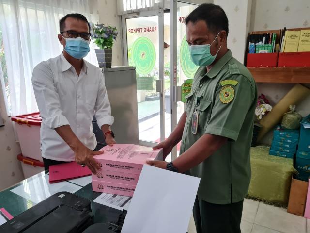 JPU Limpahkan Perkara Korupsi Disdik Kuansing ke Pengadilan Tipikor PN Pekanbaru