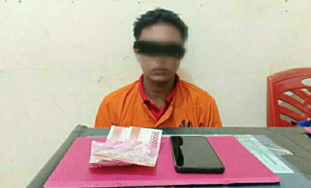 Polisi Tangkap Satu Pengedar Sabu di Inhu, Hasil Pengembangan Kasus di Ukui Pelalawan