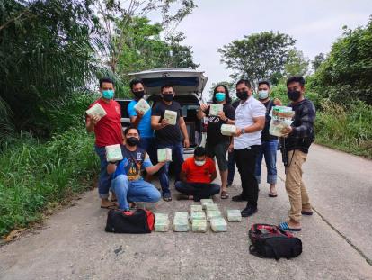 Pengiriman 20 Kg Sabu ke Indonesia yang Digagalkan Polda Riau Ternyata Dikendalikan Bos dari Myanmar