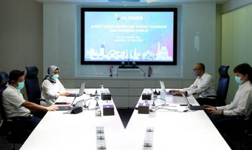 RUPS Tahunan 2020 PT XL Axiata Tbk Setujui Pembagian Deviden serta Perubahan Susunan Direksi dan Dewan Komisaris