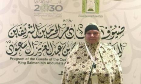 Bersyahadat Setelah Penembakan Masjid, Tracy Diundang Raja Salman ke Tanah Suci