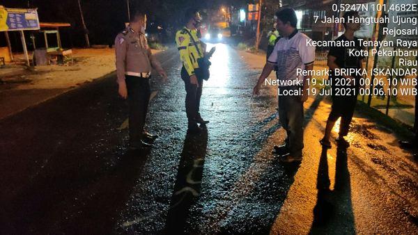 Polisi Buru Pengemudi Brio Pelaku Tabrak Lari yang Tewaskan Pengendara Motor di Pekanbaru