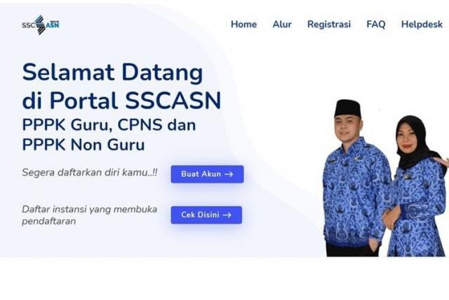 Pendaftaran CPNS Diperpanjang Sampai 26 Juli, Daftar di SSCASN 2021