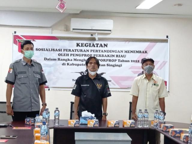 Jelang Porprov X Riau, Perbakin Kuansing Pelajari Aturan Menembak