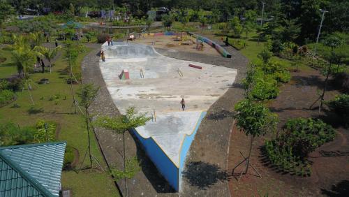 Ketua Porserosi Meranti: Skate Park di RTH Hadiah Khusus Bagi Kami