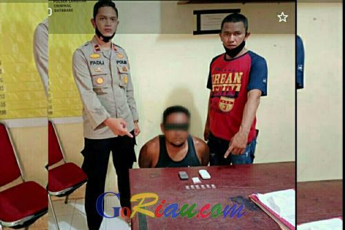 Digerebek di Rumahnya, Polisi Sita 5,9 Gram Sabu dari Pengedar di Langgam