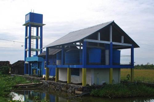 148 dari 151 Desa di Kampar Sudah Miliki Pengelolaan Air Minum Berbasis Masyarakat