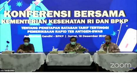 Tarif Tertinggi Rapid Test Antigen di Jawa Berbeda dengan Luar Jawa