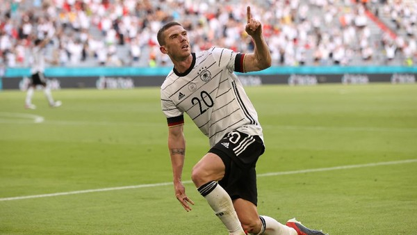 Jerman Tekuk Portugal 4-2, Gosens Balas Permalukan Ronaldo
