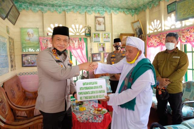 Asrama Baru untuk Santri Siap Digunakan, Pimpinan Ponpes Raudhatul Quran Ucapkan Terima Kasih kepada Kapolda Riau
