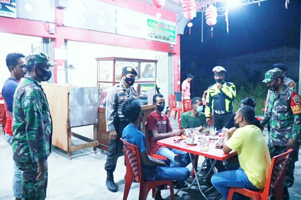 Tim Gabungan di Kepulauan Meranti Patroli Bersama Pantau Situasi Malam Lebaran
