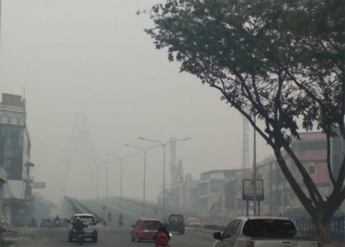 Kerugian Akibat Kabut Asap di Riau Diperkirakan Rp50 Triliun