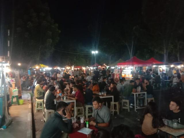 IPKS Pertanyakan Wewenang LPM Ambil Alih Pengelolaan Pusat Kuliner Bundaran Tugu Keris