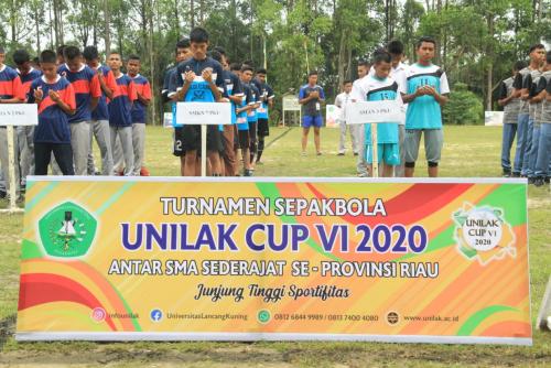 Unilak Pekanbaru Gelar Kompetisi Sepakbola Tingkat SMA dan SMK Terbesar di Riau