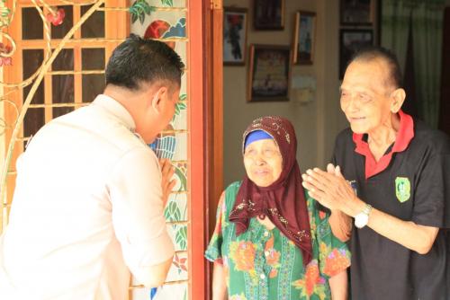 Ajak Jaga Kamtibmas, Kapolres Datangi Tokoh Masyarakat Jawa di Kepulauan Meranti