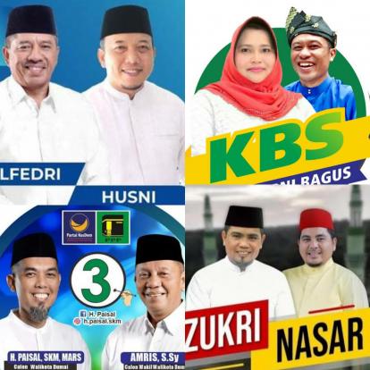 Hari Ini dan Besok, Empat Paslon Ini Ditetapkan Sebagai Pasangan Terpilih di Pilkada Serentak Riau 2020