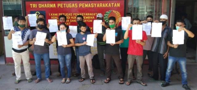 Lapas Tembilahan Jalankan Program Asimilasi di Rumah Tahun 2021