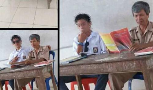 Guru SMA di Makassar Biarkan Siswa Merokok di Sampingnya karena Tak Ingin Dituduh Langgar HAM