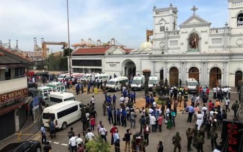 Ledakan Terjadi di 2 Gereja dan 2 Hotel di Sri Lanka