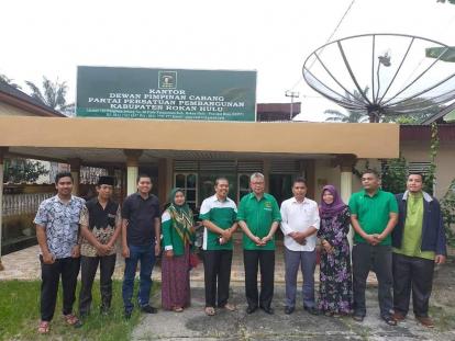 Punya Nama Besar dan Jam Terbang Tinggi, DPC Rohul Jagokan Syamsurizal Jadi Ketua DPW PPP Riau