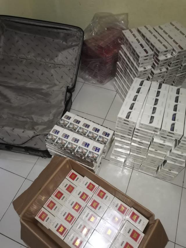 Puluhan Ribu Batang Rokok Tanpa Cukai Diamankan Bea dan Cukai Bengkalis