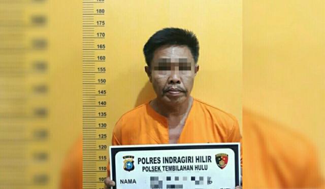 Curi Kabel Listrik Lampu Jalan di Tembilahan Hulu, Pria 49 Tahun Diringkus Polisi