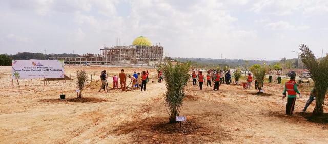 Akan Jadi Taman, Pemko Rencanakan Penanaman 400 Pohon Kurma di Areal Islamic Center