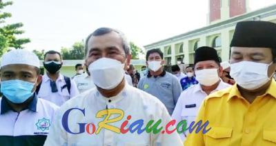 Pekanbaru Masuk PPKM Level 3, Gubernur Riau Sudah Siapkan Acuannya, Daerah Menyesuaikan