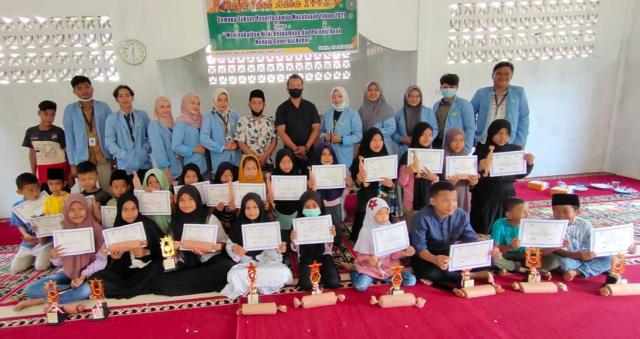 Tingkatkan Nilai Agamis Generasi Muda, Tim Kukerta UR Gelar Lomba di Desa Luai