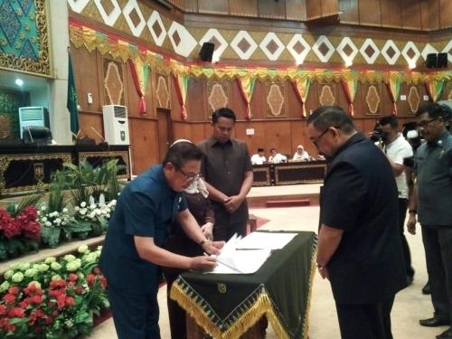 MoU APBD-P Riau 2019 Diteken, Ada Penambahan Anggaran Sebesar Rp271 Miliar