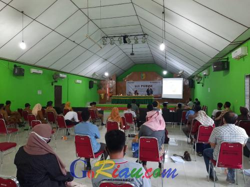 Kuansing Pertama di Riau Lakukan Uji Publik DPS
