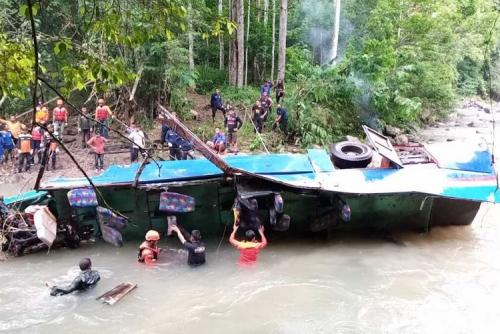 Bus Sriwijaya Masuk Jurang Tewaskan 35 Penumpang, Pemilik Dijadikan Tersangka