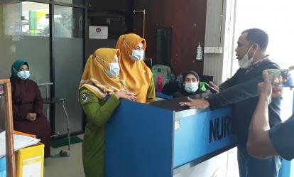Ketua DPRD Pelalawan Sidak RSUD Selasih Terkait Keterlambatan Gaji Pegawai