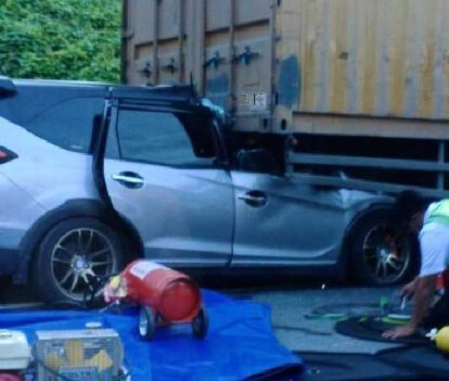 Ini Identitas Ibu dan Bayinya yang Tewas Akibat Honda BRV Tabrak Truk di Tol Pekanbaru-Dumai