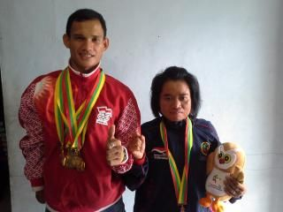 Pelari asal Riau Borong Lima Emas untuk Kontingen Indonesia di ASEAN Paragames Myanmar