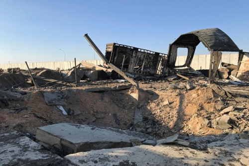 Belasan Tentara AS Gegar Otak Akibat Rudal Iran