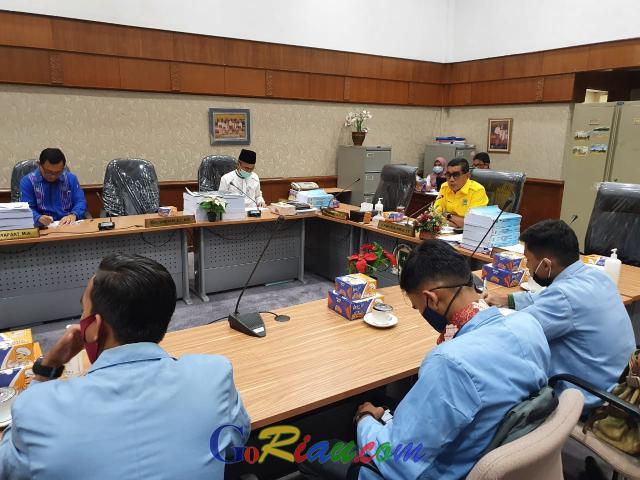 Kunjungi Komisi IV DPRD Riau, Mahasiswa Unri Pertanyakan Perkembangan Peralihan Blok Rokan