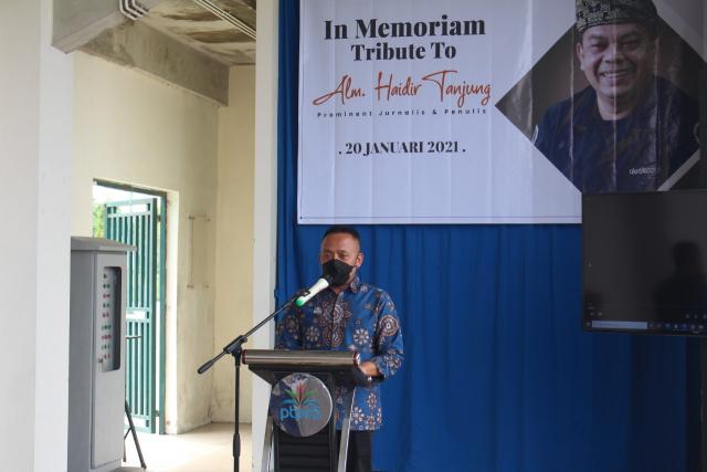 Mengenang Berpulangnya Haidir Anwar Tanjung di PTPN V
